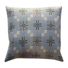 Buy Melin Tregwynt St Davids Cross Cushion, Blue Online at johnlewis.com