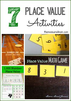 7 Place Value Activities (plus a new link up)