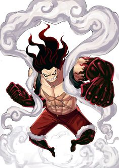 One Piece Gear 4, One Piece Ace, One Piece Luffy, One Piece Drawing, One Piece Manga, Roronoa Zoro, Luffy Gear 4, One Piece Movies, Kingdom Hearts Anime