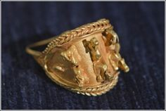 Rare Treasure Trove of Ancient Jewelry was found at the ancient ruins of Megiddo.  Offering a rare glimpse into ancient Canaanite high society, the 3,000-year-old jewelry was found inside a ceramic vessel, suggesting the owner hid them before fleeing.    source: http://www.blog-id.info/news/rare-treasure-trove-of-ancient-jewelry-was-found#ixzz24zkB0u4G