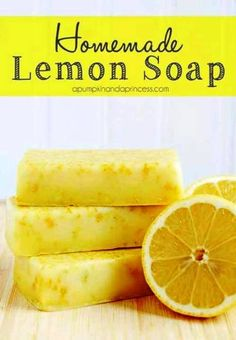 How to Make Homemade Lemon Soap   Health & Natural Living