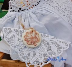 Silula Art -  ciondolo con pavoncella sarda