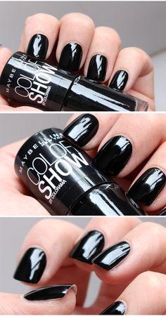BLACK PERFECTION – Det bästa svarta nagellacket! | Helen Torsgården – Hiilens sminkblogg