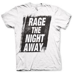 Steve Aoki -Rage The Night Away- White Tee