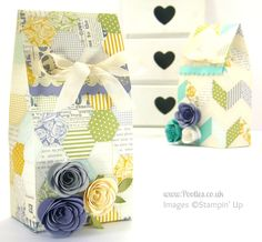 Stampin' Up! UK Independent Demonstrator Pootles - The Extra Large Paper Bag Tutorial!
