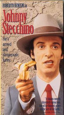Roberto Benigni. This film is better to watch in Italian and since most of it is sight gags it's not difficult to figure out. Hilarious!!