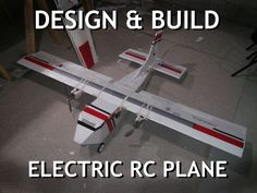 Design & Build Your Own Electric RC Airplane: Here, I will show you how I made my twin motor RC airplane with a wingspan. These instructions will show you the basic ideas you need to think about and do when designing and building any RC Airplane. Electric Rc Planes, Radio Controlled Aircraft, Remote Control Boat, Model Airplanes, Build Your Own, Rc Cars, Twin, Rc Vehicles, Pictures