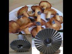 форма и рецепт для печенья грибочки опята лисички ХВОРОСТ - YouTube