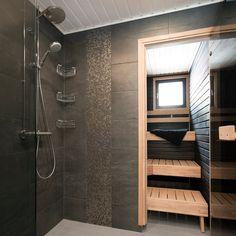 Tunnelmallinen pesuhuone ja sauna │ Laattapiste