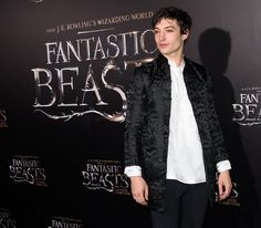 Ezra Miller plays Credence Barebone in Fantastic Beasts