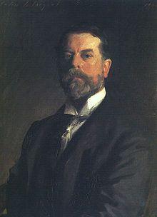 John Singer Sargent self portrait 1907. Uffizi