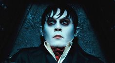 """From visionary director Tim Burton comes the big-screen adaptation of the TV vampire classic """"Dark Shadows"""" featuring an all-star cast, led by perennial collaborator Johnny Depp. Johnny Depp Dark Shadows, Dark Shadows Movie, Film Tim Burton, Tim Burton Johnny Depp, Movie Photo, Movie Tv, Critique Film, Johnny Depp Movies, Hollywood"""