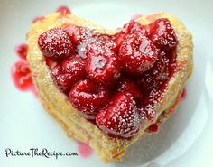 For Valentine's Day: Raspberry Napoleon Recipe with step by step instructions and pictures!