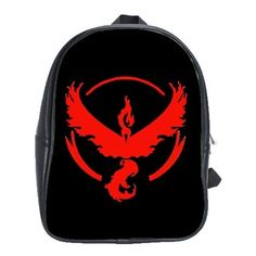 eBlueJay: POKEMON GO 100% GENUINE LEATHER XL SCHOOL BACKPACK $29.99