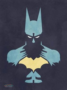 Batman (via http://www.redbubble.com/people/ipaints/works/9764602-batman?p=poster=shop_grid=small)