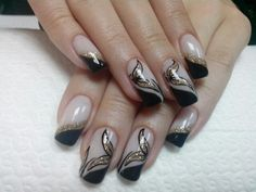 NAiLS Black & Gold art