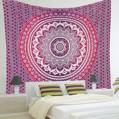 Beautiful Indian Mandala Tapestry - Project Yourself