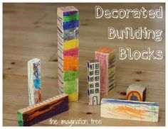 The Imagination Tree: Decorated Building Blocks for Construction Play
