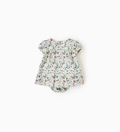 FLORAL MICRO-CORDUROY DRESS-DRESSES AND ROMPER SUITS-MINI   0-12 months-KIDS   ZARA United States
