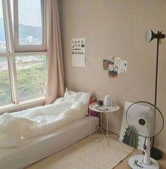22 Super Ideas For Living Room Ideas Grey Interieur Cozy Living Rooms, Apartment Living, Apartment View, Korean Apartment, Minimalist Room, Aesthetic Bedroom, Cozy Room, Dream Rooms, Dream Bedroom