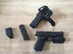 Verkaufe Glock 21 Gen.4 mit originalen Glock Laser-Lichtmodu