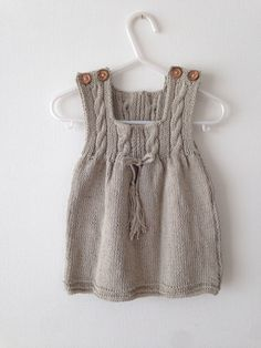 Soft tunic - My Website 2020 Knitting Baby Girl, Baby Knitting Patterns, Crochet Baby, Knit Vest Pattern, Kimono Pattern, Baby Sweaters, Girls Sweaters, Knit Baby Dress, Baby Kind