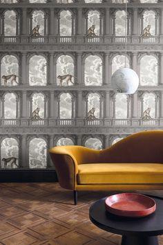 Procuratie con vista 114 8016 - Fornasetti - Cole   Son Cole And Son  Wallpaper 681eb0b705