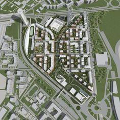 Architecture Concept Drawings, Landscape Architecture, Landscape Design, Architecture Design, Environment Design, Built Environment, City Skylines Game, Urban Design Plan, Urban Park