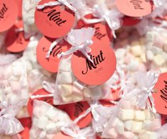 mint to be wedding favors