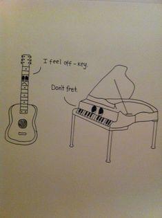 trendy Ideas for music humor piano funny Classical Music Humor, Music Jokes, Music Humour, Funny Music, Piano Funny, Band Jokes, Band Puns, Funny Puns, Funny Stuff