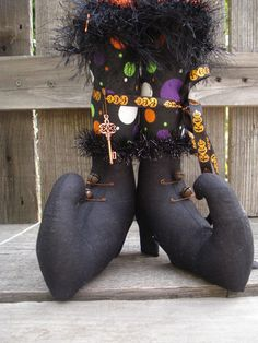 Excellent Halloween Décor, great for small places, cute little Witch Boots Precious*Attic*Prims-By-JoyLynn