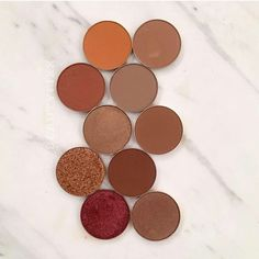Fall colours from makeup geek. ♡