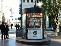 Batter: a pop-up bakery at the corner of Kearny & California in San Francisco's financial district.