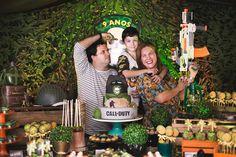 Festa de pijama: diversão pura com o padrasto Rafael Laranjeiro e a mãe Joana da Costa
