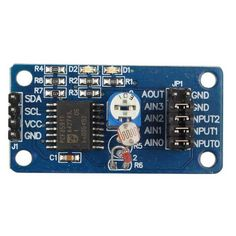 PCF8591 AD/DA Converter Module Analog to Digital And Analog to Digital Conversion For Arduino. Find the cool gadgets at a incredibly low price with worldwide free shipping here. PCF8591 AD/DA Converterm Analog to Digital / Analog to Digital Module, Boards & Shields, . Tags: #Electrical #Tools #Arduino #SCM #Supplies #Boards #Shields
