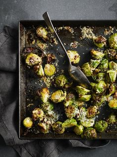 Parmesan Brussel Sprouts | Vegetable Recipes | Jamie Oliver