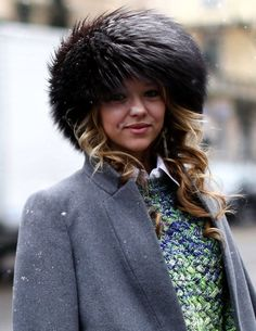 Milan Fashion Week Fall 2013 #streetstyle #MFW #fashionweek #hats