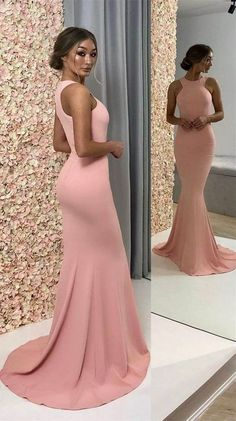 long prom dresses - elegant pink prom dress,simple prom dress,mermaid long evening dress,long bridesmaid dress, wedding party dress from Butterfly Love Gold Prom Dresses, Prom Dresses For Sale, Mermaid Evening Dresses, Long Bridesmaid Dresses, Formal Evening Dresses, Evening Gowns, Dress Prom, Pink Mermaid Dress, Pink Evening Dress