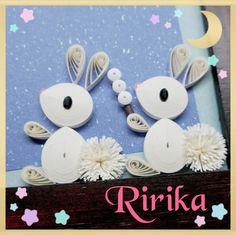 9月のクイリング教室の日程とRirikaの活動日程 の画像|Ririka的クイリング生活 Quilling Animals, Paper Quilling, Paper Beads, Happy Easter, Origami, Projects To Try, Bunny, Gifts, Paper Crafts