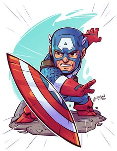 Chibi Cap by DerekLaufman on DeviantArt