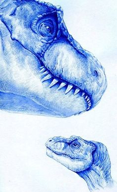 Incredible Female and Baby T-rex (from The Lost World: Jurassic Park) pen drawing by Juan Pablo L Design. Dinosaur Sketch, Dinosaur Drawing, Dinosaur Art, T Rex Jurassic Park, Jurassic Park World, Jurassic Movies, Dinosaur Tattoos, Jurassic World Fallen Kingdom, Park Art