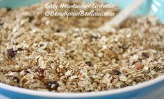 4 Frugal & Easy Granola Recipes - MoneySavingQueen - April 2013