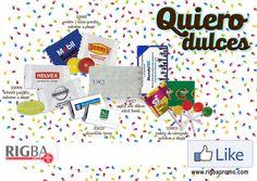 Que tu marca perdure con nuestra amplia variedad de dulces promocionales 🍬 🍫 🍭 Desde sobres con dos pastillas hasta paleta de diversos sabores. Endúlzale la vida a tus clientes y solicita tu cotización ahora mismo!! 😍