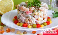 Салат с пастой - рецепт приготовления с фото | FOODideas.info
