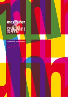 Max Huber e l'eredità delle avanguardie europee by Tommaso Elli, via Behance