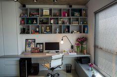 escritorio na sala