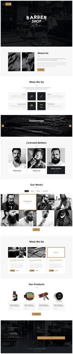 Salon | Barbershop & Tatoo WordPress Theme - WordPress | ThemeForest