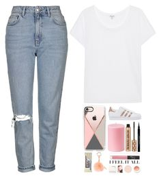 """""""*i feel it all*"""" by itsfashioninfinity ❤ liked on Polyvore featuring Splendid, Topshop, Casetify, adidas Originals, Givenchy, Korres and NARS Cosmetics"""