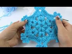 Christmas ornament - How To Crochet a Snowflake Free Tutorial - YARN OF CROCHET