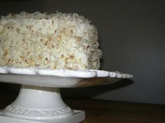 Baking The Book: Coconut Layer Cake